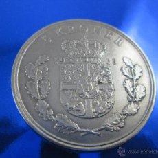 Monedas antiguas de Europa: Aª MINEDA-DINAMARCA-5 CORONAS-1968-FREDERIK IX-33 MM.D-BUEN ESTADO.. Lote 46474257