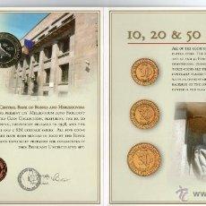 Moedas antigas da Europa: BOSNIA HERZEGOVINA-----CARTERA MONEDAS 2000----------SC. Lote 46986843