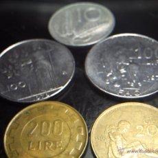 Monedas antiguas de Europa: LLOTE 5 MONEDAS ITALIANAS. EXCELENTES.. Lote 47142379