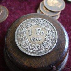 Monedas antiguas de Europa: SUIZA. 1 FRANCO 1913 B. Lote 47323465