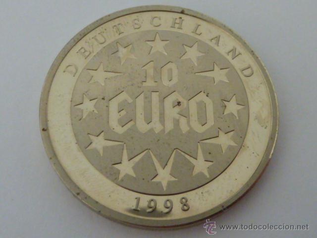 Moneda De Plata De 10 Euros De Alemania De 1998 Comprar Monedas