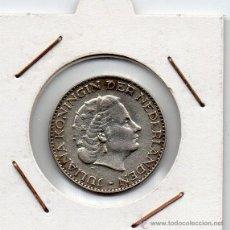 Monedas antiguas de Europa: HOLANDA : 1 GULDEN 1956 EBC ( PLATA ) . Lote 47631821