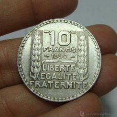Monedas antiguas de Europa: 10 FRANCOS - 10 FRANCS. PLATA. FRANCIA - 1930.. Lote 47848805