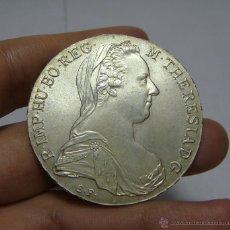 Monedas antiguas de Europa: 1 THALER. PLATA. M. THERESA. AUSTRIA - 1780. Lote 47854192