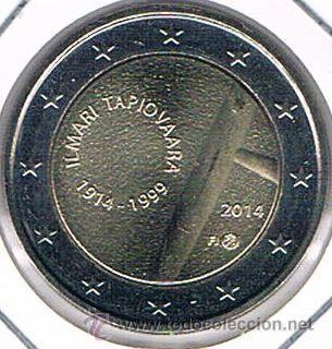 MONEDA CONMEMORATIVA DE 2 € FINLANDIA 2014. ILMARI TAPIOVAARA. (Numismática - Extranjeras - Europa)