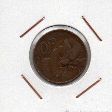 Monedas antiguas de Europa: ITALIA : 10 CENTESIMI 1921 R MBC . Lote 47980650