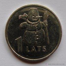 Monedas antiguas de Europa: 1 LATS DE 2007 DE LETONIA ( CONMEMORATIVO). Lote 48211187