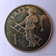 Monedas antiguas de Europa: 1 LATS DE 2008 DE LETONIA ( CONMEMORATIVO). Lote 48211252