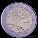 Monedas antiguas de Europa: MONEDA CONMEMORATIVA DE 2 € FRANCIA 2015. PAZ EN EUROPA. Lote 48526352