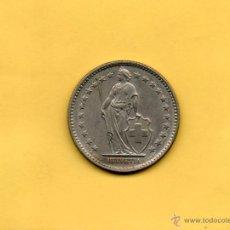 Monedas antiguas de Europa: MM. CONFEDERACIÓN HELVETICA. HELVETIA. SUIZA. 2 FRANCOS. 1968, BELLA. VER FOTOS.. Lote 48588579