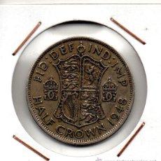 Monedas antiguas de Europa: GRAN BRETAÑA : HALF CROWN 1948 MBC+. Lote 49047891
