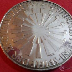 Monedas antiguas de Europa: ALEMANIA, 10 MARCOS DE PLATA, OLIMPIADAS 1972 J. Lote 49054840