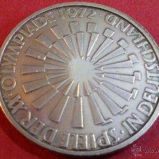 Monedas antiguas de Europa: ALEMANIA, 10 MARCOS DE PLATA, OLIMPIADAS 1972 D. Lote 49054885