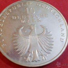 Monedas antiguas de Europa: ALEMANIA, 10 MARCOS DE PLATA, 1998 F. Lote 49057168