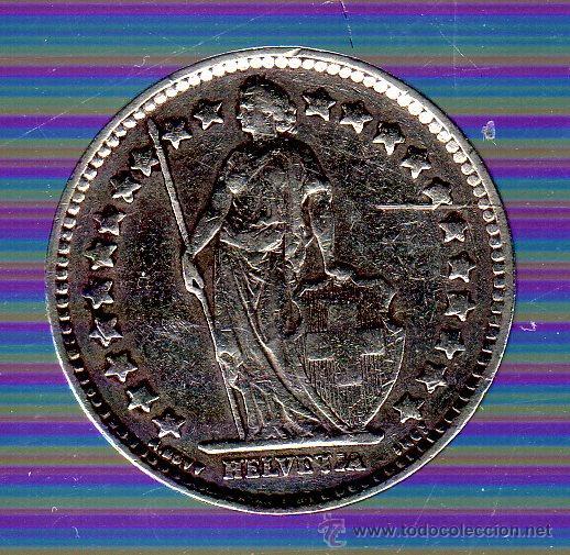 Monedas antiguas de Europa: SUIZA. 1/2 FRANCO. 1943 - Foto 2 - 49280121