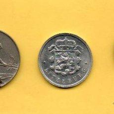Monedas antiguas de Europa: MM. LOTE 3 MONEDAS LUXEMBURGO. LUXEMBURG. LETZEBURG. LUXEMBOURG. 1973 1964 1963 . VER FOTOS. Lote 49306005