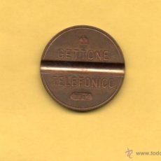 Monedas antiguas de Europa: MM. FICHA TELEFÓNICA. GETTONE TELEFONICO 7712 ITALIA ITALIANO MUY BUEN ESTADO VER FOTOGRAFIAS. Lote 49335038