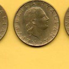 Monedas antiguas de Europa: MM. LOTE 5 MONEDAS 200 LIRAS ITALIANAS. ITALIA. DIVERSOS AÑOS DIFERENTES. AÑOS 1970 Y 1980. VER FOTO. Lote 49335100