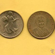 Monedas antiguas de Europa: MM. LOTE 4 MONEDAS ITALIANAS. ITALIA. GUGLIELMO MARCONI. FAO. 20 100 Y 200 (2) LIRAS. VER FOTOS. Lote 49335777