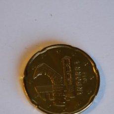 Monedas antiguas de Europa: 20 CTS CENTIMOS ANDORRA 2014 SIN CIRCULAR SACADA DE BOLSA FNMT. Lote 49501568