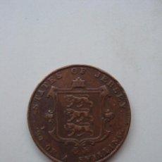 Monedas antiguas de Europa: MONEDA DE 1/26 DE SCHILLING DEL ESTADO DE JERSEY DE 1858. Lote 49898369