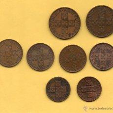 Monedas antiguas de Europa: MM. LOTE 8 MONEDAS REPUBLICA PORTUGUESA. PORTUGAL. 1 ESCUDO Y 50 Y 20 CENTAVOS. VER FOTOGRAFIAS. Lote 49927510