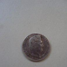 Monedas antiguas de Europa: 1/4 DE FRANCO DE LUIS FELIPE I835 DE PLATA. Lote 49950358