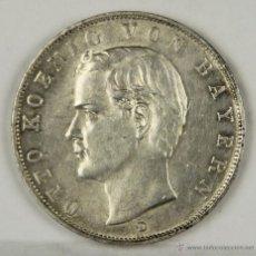 Monedas antiguas de Europa: MO-015. MONEDA DE PLATA. OTTO KÖENIG VON BAYERN. 1913. ALEMANIA. TRES MARCOS.. Lote 50321517