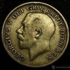 Monedas antiguas de Europa: MONEDA DE PLATA DE SEIS PENIQUES DE GEORGE V DE 1911. Lote 50379300