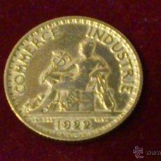 Monedas antiguas de Europa: MONEDA FRANCESA 1922 COMMERCE INDUSTRIE - 1 FRANCO. Lote 50410740
