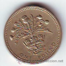 Monedas antiguas de Europa: INGLATERRA.GRAN BRETANIA.REINO UNIDO.1 LIBRA ESTERLINA 1984.VER FOTO ADICIONAL.(94).. Lote 50654828
