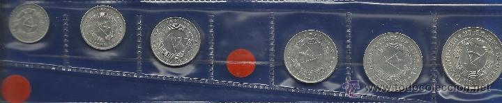 JUEGO 6 MONEDAS ALEMANIA ORIENTAL (REPUBLICA DEMOCRATICA ALEMANA) ESCASAS (Numismática - Extranjeras - Europa)