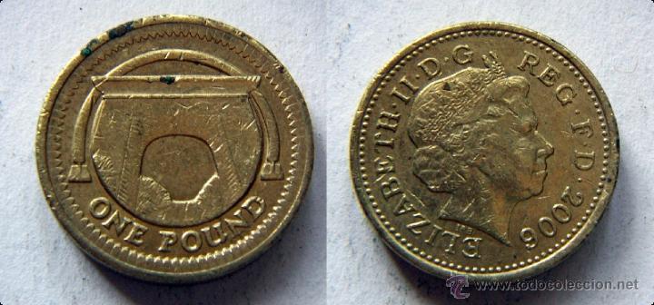 Gran Bretaña One Pound 1 Libra 2006 Comprar Monedas Antiguas De