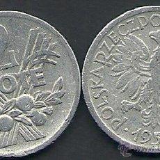 Monedas antiguas de Europa: POLONIA - 2 ZLOTE 1958 - ALUMINIO - LA DE LA FOTO - VISITA MIS OTROS LOTES Y AHORRA GASTOS DE ENVÍO. Lote 51612343