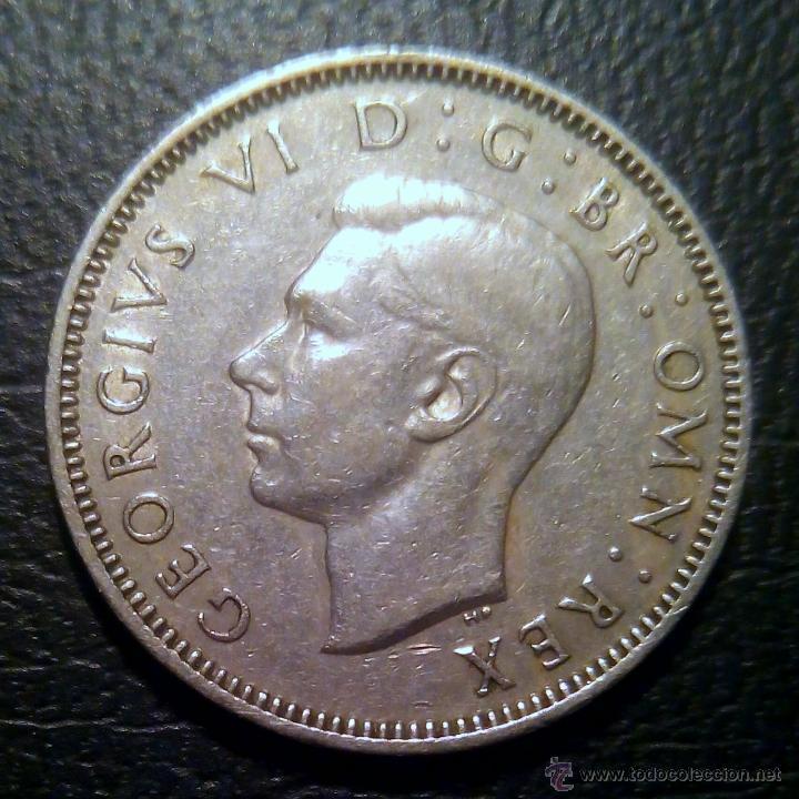 UN CHELÍN 1950 GEORGE VI (Numismática - Extranjeras - Europa)