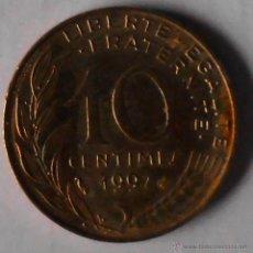 Monedas antiguas de Europa: 10 CÉNTIMOS FRANCIA 1997. Lote 51882272