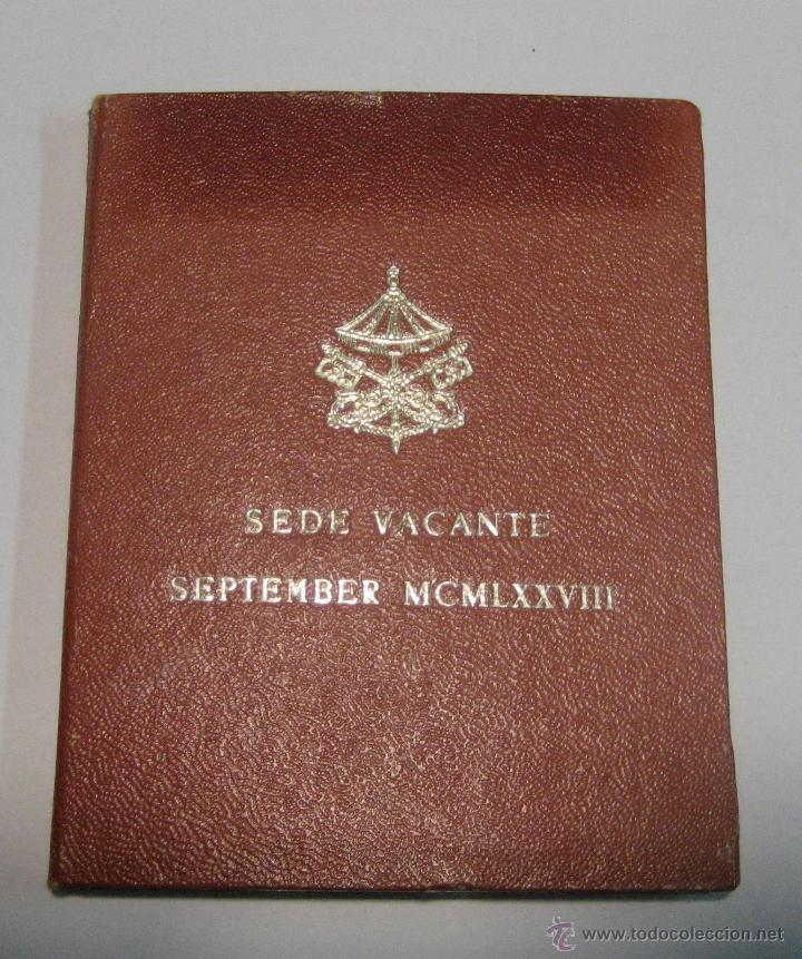 VATICANO - SEDE VACANTE 1978 - 500 LIRAS EN PLATA (Numismática - Extranjeras - Europa)