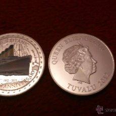 Monedas antiguas de Europa: MONEDA DEL TITANIC 1 OZ 2012 DE PLATA 999.. Lote 106933578