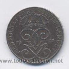 Monedas antiguas de Europa: SUECIA- 5 ORE- 1950. Lote 52476367