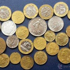 Monedas antiguas de Europa: LOTE 27 MONEDAS FRANCIA FRANCO FRANCÉS FRANCOS FRANCESES DIFERENTES ÉPOCAS ANTERIORES AL EURO. Lote 53158035