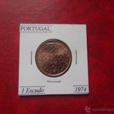 Monedas antiguas de Europa: PORTUGAL 1974, 1 ESCUDO, SC. Lote 53337291