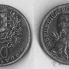 Monedas antiguas de Europa: PORTUGAL - 50 CENTAVOS - 1966 - KM# 577. Lote 53628001