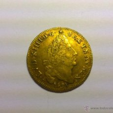 Monedas antiguas de Europa: FRANCIA. LUIS XIV, LUIS DE ORO CON 4L, 1693, LILLE. Lote 53702462