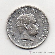 Monedas antiguas de Europa: PORTUGAL. 500 REIS. AÑO 1896. PLATA. . Lote 53813304