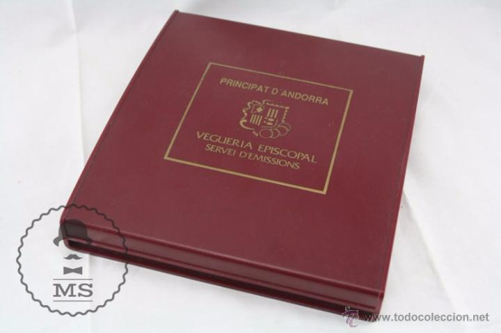 Monedas antiguas de Europa: Estuche de 8 Monedas Plata Principat d'Andorra - Olimpiada Barcelona 1992 / 92 - Vegueria Espiscopal - Foto 2 - 53859715