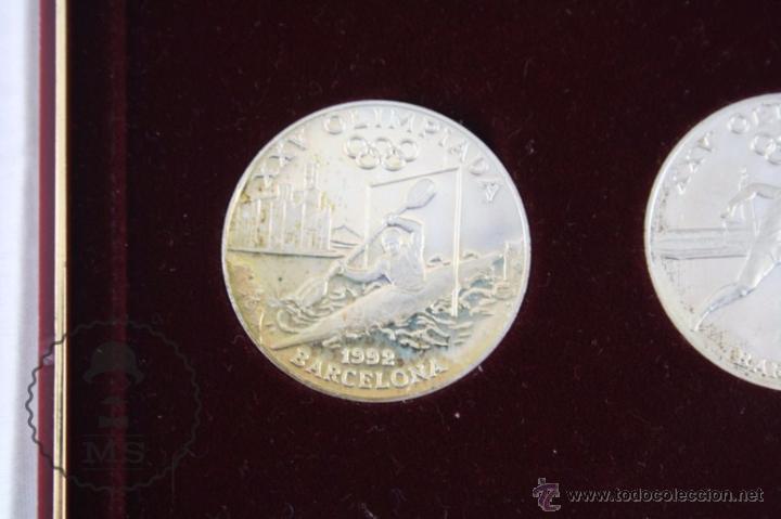 Monedas antiguas de Europa: Estuche de 8 Monedas Plata Principat d'Andorra - Olimpiada Barcelona 1992 / 92 - Vegueria Espiscopal - Foto 6 - 53859715