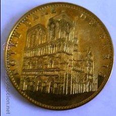 Monedas antiguas de Europa: MONEDA DE LA CATEDRALE NOTRE DAME DE PARIS -. Lote 54060444