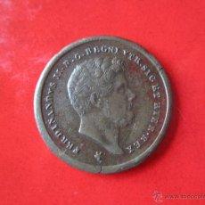 Monedas antiguas de Europa: ITALIA. 2 TORNESI DE FERNANDO II DE SICILIA. 1857. *CR. Lote 54492383