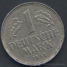 Monedas antiguas de Europa: ALEMANIA - 1 MARCO 1959 G - EBC - VISTA MIS OTROS LOTES Y AHORRA GASTOS DE ENVÍO. Lote 54562765