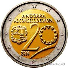 Monedas antiguas de Europa: ANDORRA 2 EURO CONMEMORATIVO 2014 (YA DISPONIBLE!!!!). Lote 54737453